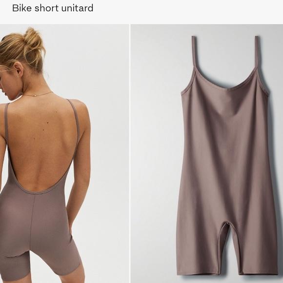 aritzia bike short unitard